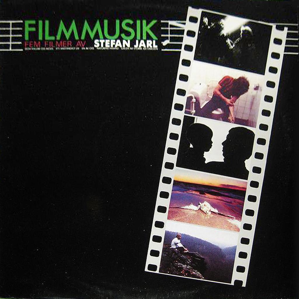 Fem filmer av stefan Jarl - LP cover